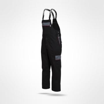 Kalhoty s laclem Ajaks černé