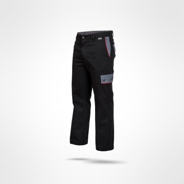 Kalhoty Ajaks černé