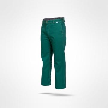 Kalhoty do pasu Korzár zelené