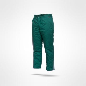 Kalhoty oteplené Norman zelené