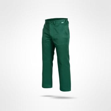 Kalhoty Pirat zelené