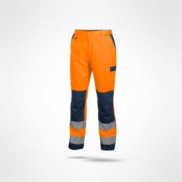 Kalhoty Roadman oranžové