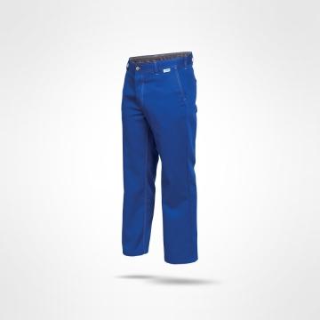 Kalhoty Farmář modré