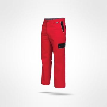 Kalhoty Ajaks červená